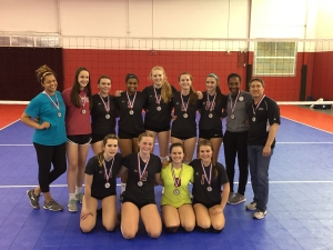 Girls 16 winner-RVC 15 Nationals